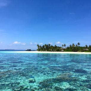 Ein Blick auf einen Teil der Insel