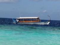 Ausflugsboot DHONI